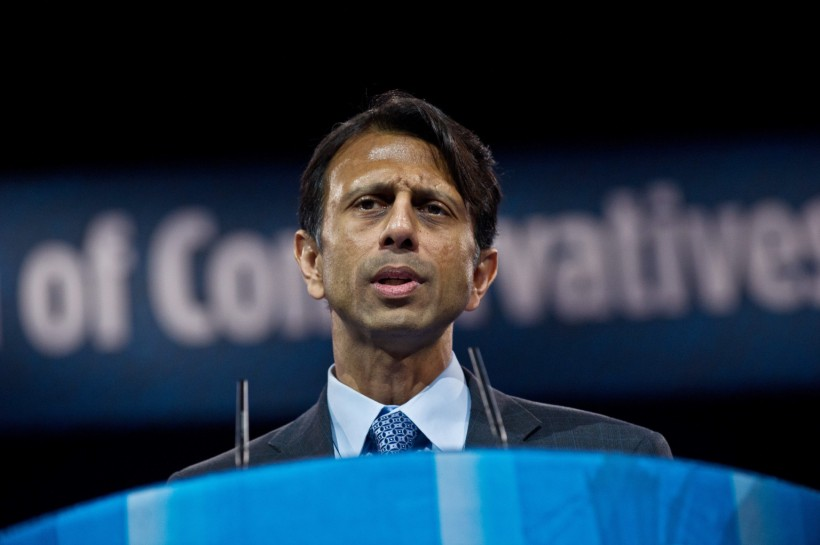 US Republican Governor of Louisiana Bobby Jindal speaks at the Conservative Political Action Conference (CPAC) in National Harbor, Maryland, on March 15, 2013.   AFP PHOTO/Nicholas KAMM        (Photo credit should read NICHOLAS KAMM/AFP/Getty Images)