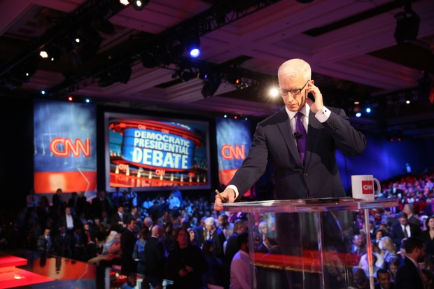 The CNN Democratic Debate at The Wynn Hotel Las Vegas.